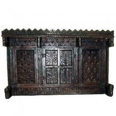 Indian Antique Dowry Chest