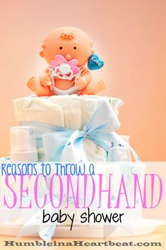 A secondhand baby shower can actually help you get more baby stuff, as long as you are okay with previously used things.