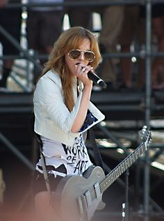 my idol. Ms Lzzy Hale.