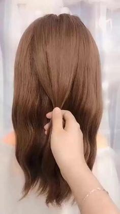 Super Easy Hairstyles, Easy Hairstyles For Long Hair, Pretty Hairstyles, Cute Hairstyles, Wedding Guest Hairstyles Long, Gatsby Hairstyles, Office Hairstyles, Hairstyles Videos, Bridal Hairstyle