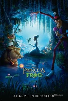 The Princess and the Frog - Netherlands Style Poster - AllPosters.ca
