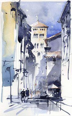 Lucca Italy, via Flickr.