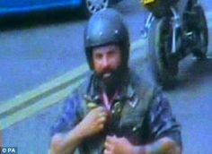 The last known images of Hell's Angel Gerry Tobin before he was murdered on the M40