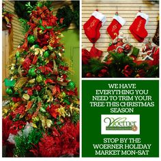 We have everything you need to deck your halls and stuff your stockings this season! Merry #Christmas from #Woerner #Pensacola