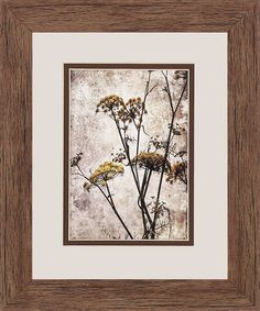 Big Sur Yarrow 2 Piece Framed Graphic Art Set