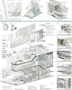 Architektur Portfolio 7 - Architektur Portfolio 7 - E . - Architecture Portfolio 7 – Architecture Portfolio 7 – E …- Architect - Detail Architecture, Architecture Board, Architecture Graphics, Concept Architecture, Futuristic Architecture, Sections Architecture, Architecture Posters, Architecture Portfolio Layout, Architecture Diagrams