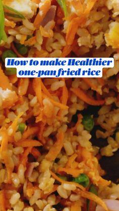 Bhg Recipes, Side Dish Recipes, Asian Recipes, Dinner Recipes, Cooking Recipes, Easy Cooking, Healthy Cooking, Cooking Rice, Healthy Recipes