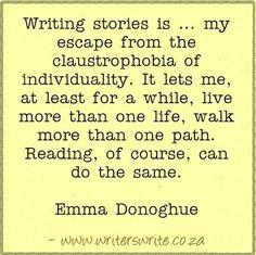 Quotable - Emma Donoghue