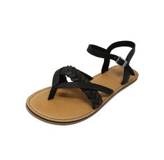 21281dd81794 Toms Women s Lexie Open Toe Casual Slingback Leather Sandals Size 7 US   fashion  clothing