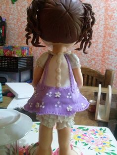 parte trasera de muñeca de pasta ver los detalles