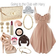 Going to the Club with Harry - Polyvore