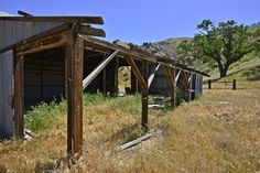 Tecuya Barn by David Clendenen on Capture Kern County // The old barn in Tecuya Canyon.