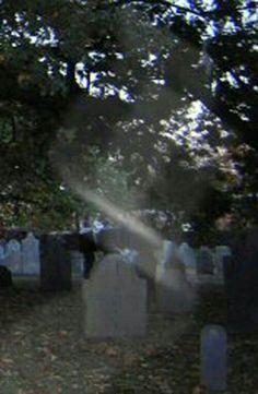 Haunted witch burial ground Salem