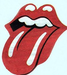 Rolling Stones logo: The band's classic tongue and lips trademark