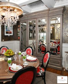 Knoxville Symphony Show House Dining Room 2011 designed by The Cottage Door Interiors
