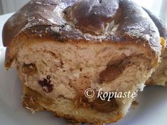 Kifylla: Cypriot Cinnamon and Raisin Bread Rolls - Kopiaste.to Greek Hospitality Cinnamon Raisin Bread, Banana Bread, Cypriot Food, My Cookbook, Bread Rolls, Sweet Bread, Street Food, Healthy Snacks, Breakfast
