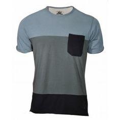 BLOCK TEE (DIRTY BLUE) Blue Block, Menswear, Tees, Mens Tops, T Shirt, Ss16, Fashion, Supreme T Shirt, Moda