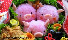 Three Little Pigs Bento