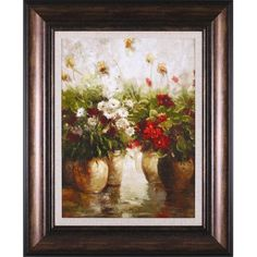 Red White and Gold and Fragrant Memories Set Ian Cook Art Print 8x10