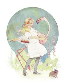 ✯ Alice in Wonderland :: Margaret Tarrant -1930- ✯  lb xxx.