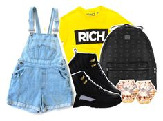 """""""Since there's 5 hours left """" by pinksemia ❤ liked on Polyvore featuring MCM and NIKE"""