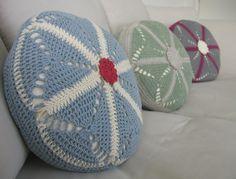cute crochet cushion cover