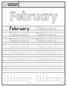 Students work on handwriting, and spelling with these free months of the year worksheets. January through December, a single sheet for each month, ensuring your student receives ample practice time. Free Handwriting Worksheets, Spelling Worksheets, Reading Worksheets, Learning To Write, Student Learning, Calendar Worksheets, Alphabet Writing Practice, Single Sheets, Months In A Year