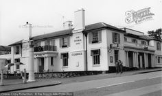 Photo of Morden, The George Inn from Francis Frith Sutton Surrey, Old Street, Local History, West London, Wimbledon, Childhood Memories, Nostalgia, Street View, Park