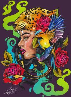 Mexico Tattoo, Aztecas Art, Mexican Artwork, Mexican Art Tattoos, Native American Images, Mexico Art, Chicano Art, Neon Genesis Evangelion, Skateboard Art