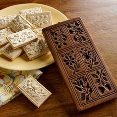Wow! Such a classy cookie! Floral-Motif Springerle Cookie Mold - Sur La Table review at Kaboodle