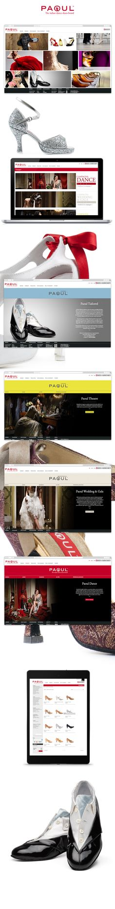 Sito web Calzaturificio Paoul creato da effADV - Calzaturificio Paoul #website, created by effADV - #webdesign #graphicdesign #weblayout #web #graphic #shoes #photography