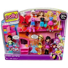 Polly Pocket Ultimate Fashion Build-Up Costume Party Pack Play Set  #PollyPocket