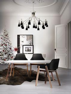 Top 5 Exquisite Weihnachtsbäume Zum Einen Moderne Wohnzimmer