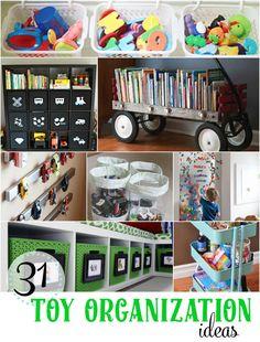 31 Toy Organization Ideas