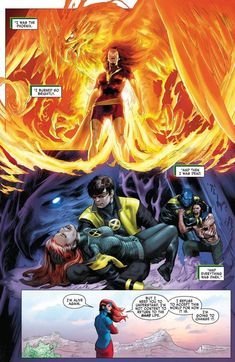 Jean Grey And Scott Summers Comic Book Characters, Marvel Characters, Comic Character, Comic Books Art, Comic Art, Jean Grey Phoenix, Dark Phoenix, Phoenix Force, Marvel Couples