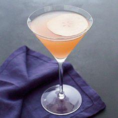 Fresh Pear Cocktail   MyRecipes.com