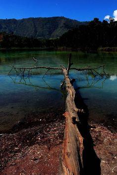 telaga warna, wonosobo, central java by Nanta Maulana, via Behance