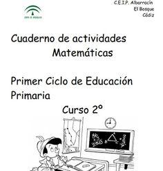 *MIS COSAS DE MAESTRA*: Cuaderno de Matemáticas 1º Ciclo (2º Primaria)