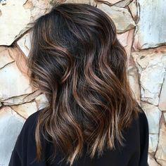 Schokolade Braun Haarfarbe für 2017