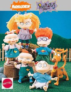 This '90s Rugrats doll collection hits the nostalgia hard.