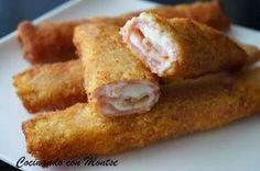 Rollitos de jamón y queso   Cocinar en casa es facilisimo.com