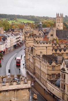 High Street, Oxford, England  (by skittle dog on Flickr)