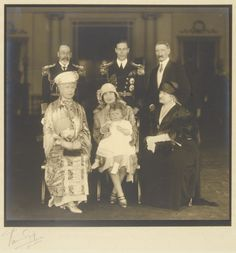 Group taken on the return of the Duke and Duchess of York from Australia, June 27th 1927. [Box: King George Vi and His Family.] | Royal Coll...