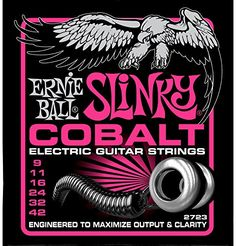 3 Pack  Ernie Ball Guitar Strings  Cobalt Slinky  Electric  942 -- Find out more about the great product at the image link.Note:It is affiliate link to Amazon.