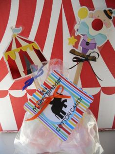 Circus Themed Party details