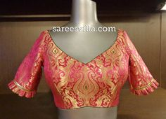Designer Saree Blouses: Patterns & Designs | Sarees Villa