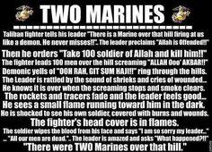 Two Marines!! Hahah yess!!!
