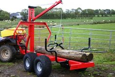 Trailers - Quad Accessories/ATV Accessories for Farm Quads Atv Trailers, Dump Trailers, Quad, Log Trailer, Atv Implements, New Tractor, Atv Accessories, Metal Fabrication, Milling