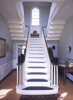 1000 images about foyer georgian style on pinterest for Georgian staircase design