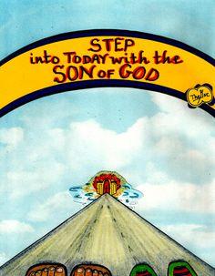 Everyday we get one step closer to Home :) www.facebook.com/TheGoodNewsCartoon